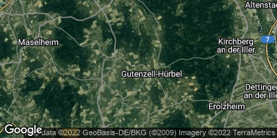 Google Map of Gutenzell-Hürbel