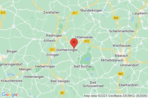 Karte Betzenweiler