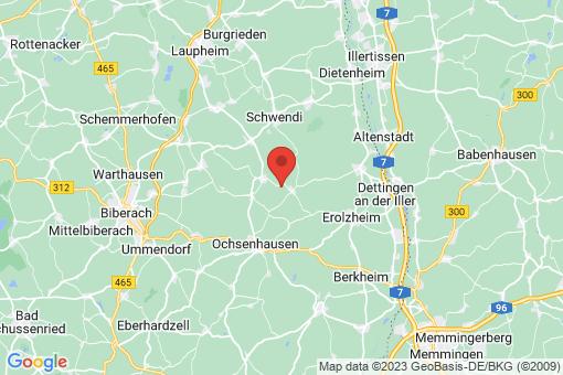 Karte Gutenzell-Hürbel