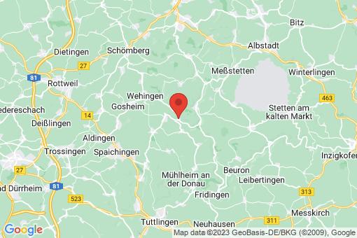 Karte Egesheim