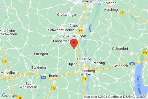 Karte Hurlach