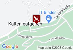 Kaltenleutgebener Hof / Capricorno - Karte