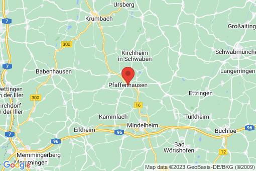 Karte Pfaffenhausen