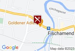 Cafe - Restaurant Zum goldenen Adler - Hans Boczy - Karte