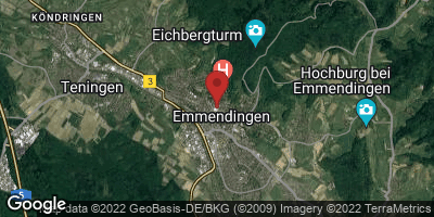 Google Map of Emmendingen
