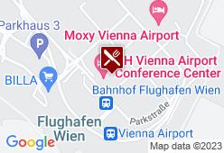 Austrian Airlines (AUA) - Karte