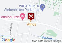 Restaurant Athos - Karte