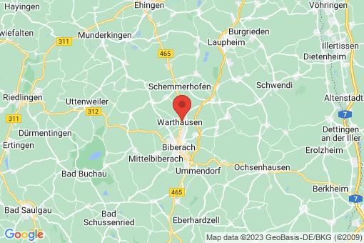Karte Warthausen