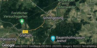 Google Map of Schöngeising