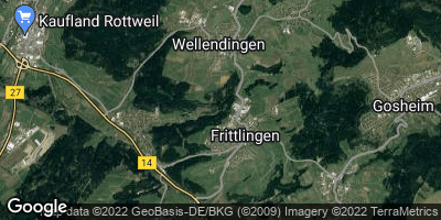 Google Map of Wellendingen