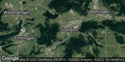 Google Map of Gosheim