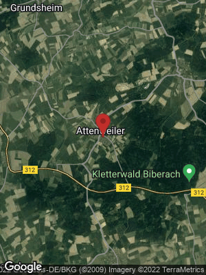 Google Map of Attenweiler