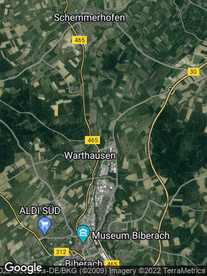 Google Map of Warthausen