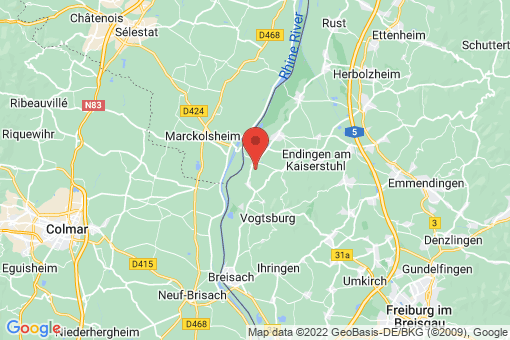 Karte Sasbach am Kaiserstuhl