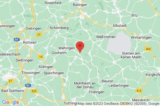 Karte Reichenbach am Heuberg