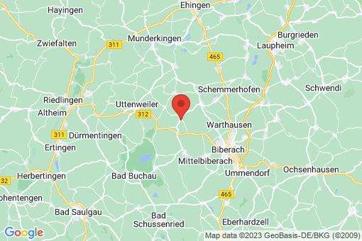 Karte Attenweiler