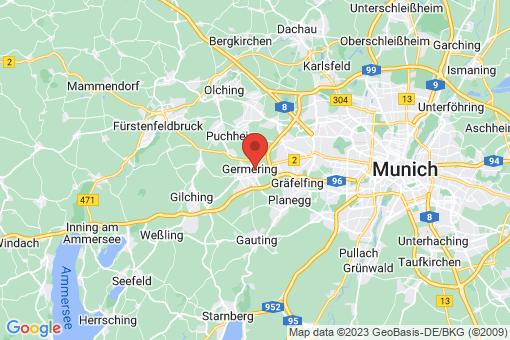 Karte Germering