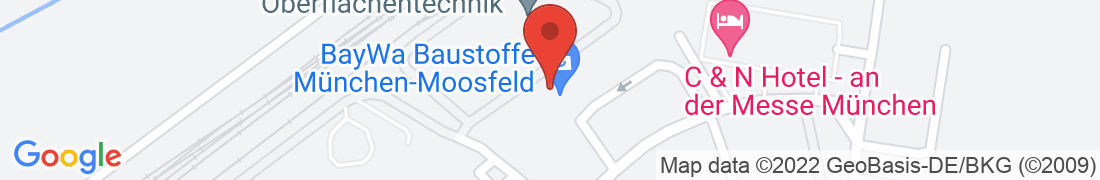BayWa Baustoffe München-Moosfeld Anfahrt