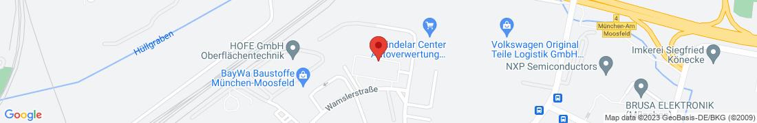 BayWa Haustechnik GmbH München Anfahrt