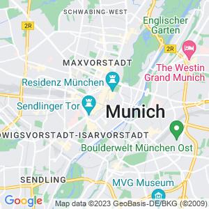 Karte von München