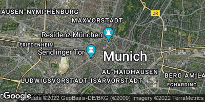 Google Map of München