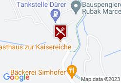 """Gasthaus """"Zur Kaisereiche"""" - Karte"""