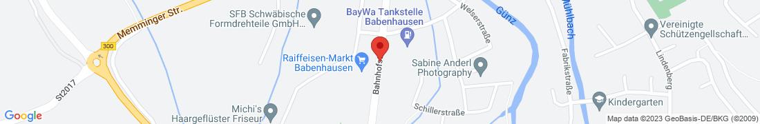BayWa Technik Babenhausen Anfahrt