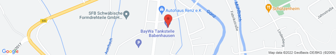 BayWa AG Babenhausen Anfahrt