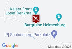 Gasthaus zur Rudolfshöhe - Karte