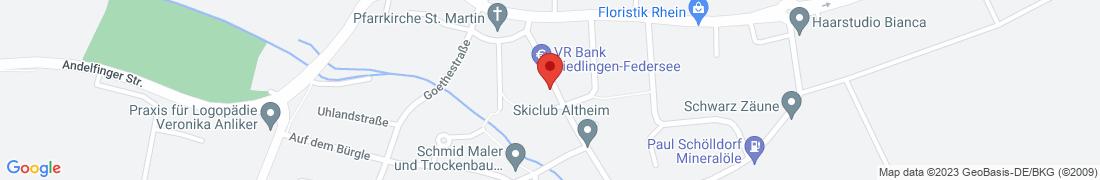 BayWa Agrar Altheim Anfahrt