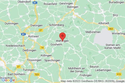 Karte Wehingen