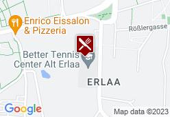 Kantine im Tennis Club Alt Erlaa - Karte