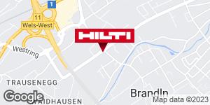 Wegbeschreibung zu Hilti Store Wels