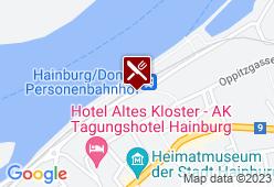 Gasthof Zum Goldenen Anker - Karte