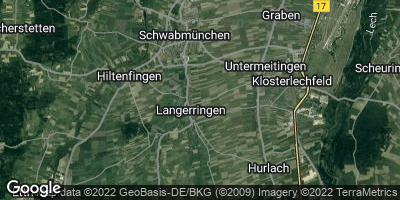 Google Map of Langerringen