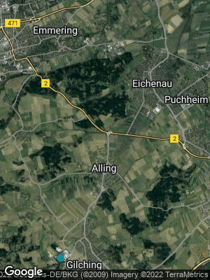 Google Map of Alling