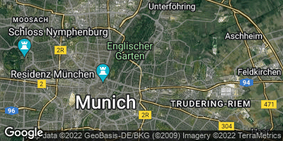 Google Map of Bogenhausen
