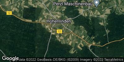 Google Map of Hohenlinden