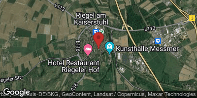 Google Map of Riegel am Kaiserstuhl