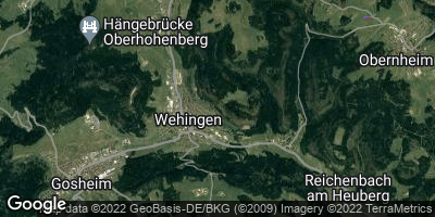 Google Map of Wehingen