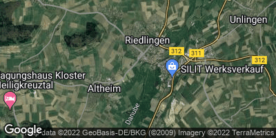 Google Map of Riedlingen