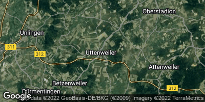 Google Map of Uttenweiler