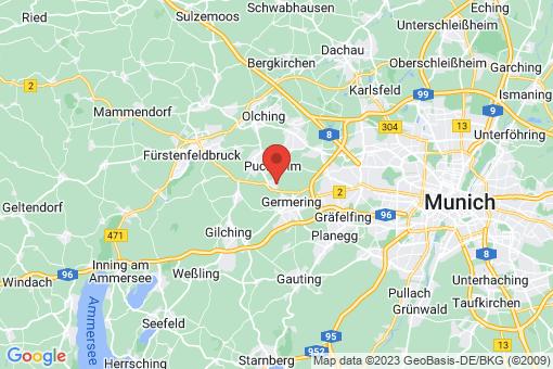 Karte Puchheim