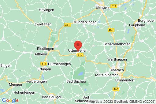 Karte Uttenweiler