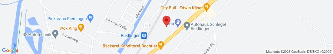 BayWa Agrar Riedlingen Anfahrt