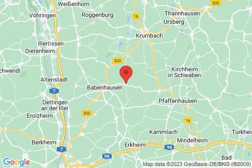 Karte Kirchhaslach