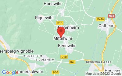 1 Rue du Lys, 68630 Mittelwihr, France