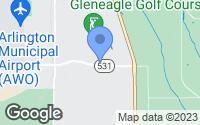 Map of Arlington, WA