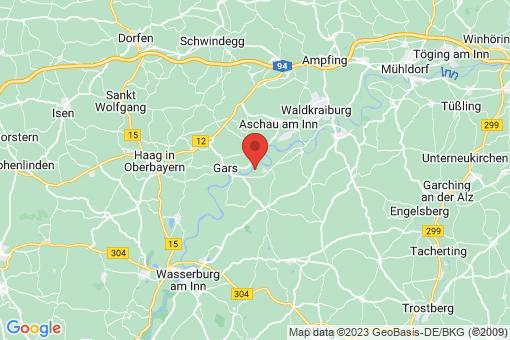 Karte Reiser, Gemeinde Gars am Inn