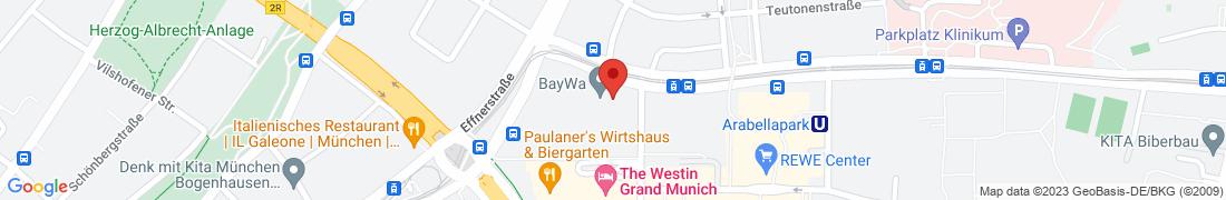 BayWa Technik Service Anfahrt